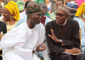 Fashola and Buhari 300x211 - FG Owes Road Contractors To The Tune Of N336bn – Babatunde Fashola Reveals