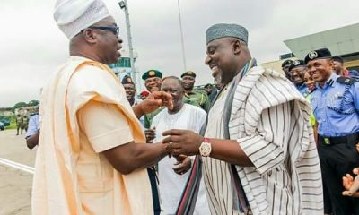 Nigerians React As Fayose Welcomes Rochas Okorocha To EFCC Alumni