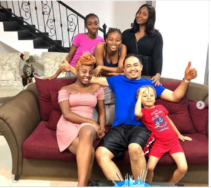 Freeze - Daddy Freeze Celebrates 43rd Birthday In Grandstyle With Family Picture