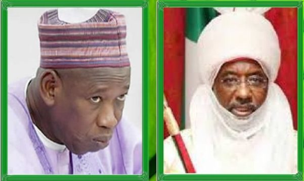 Kano: Why I Was Told To Dethrone Emir Sanusi - Ganduje