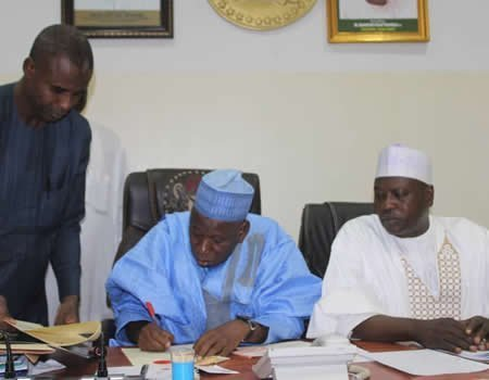 Gov Ganduje Appoints 36 New Permanent Secretaries (Full List)