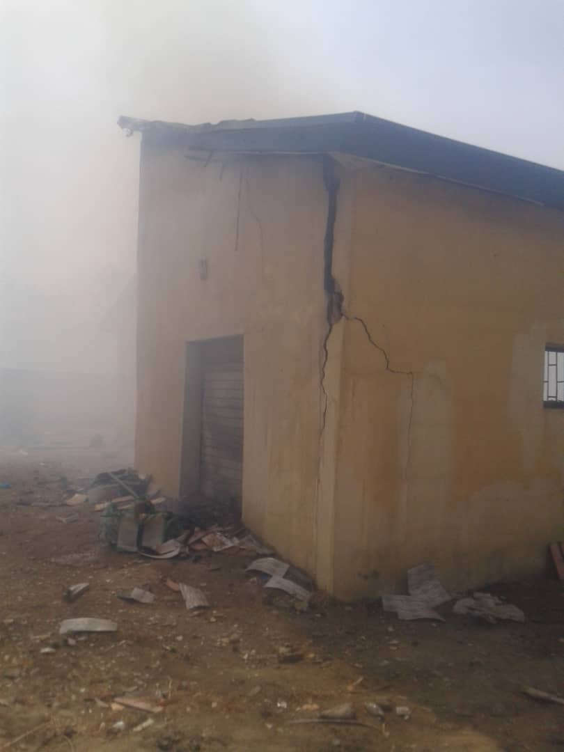 IMG 20190502 WA0004 - Fire Burns Down INEC Office In Jigawa State (Photos)