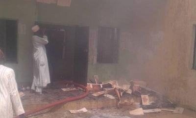 Jigawa INEC Office Fire