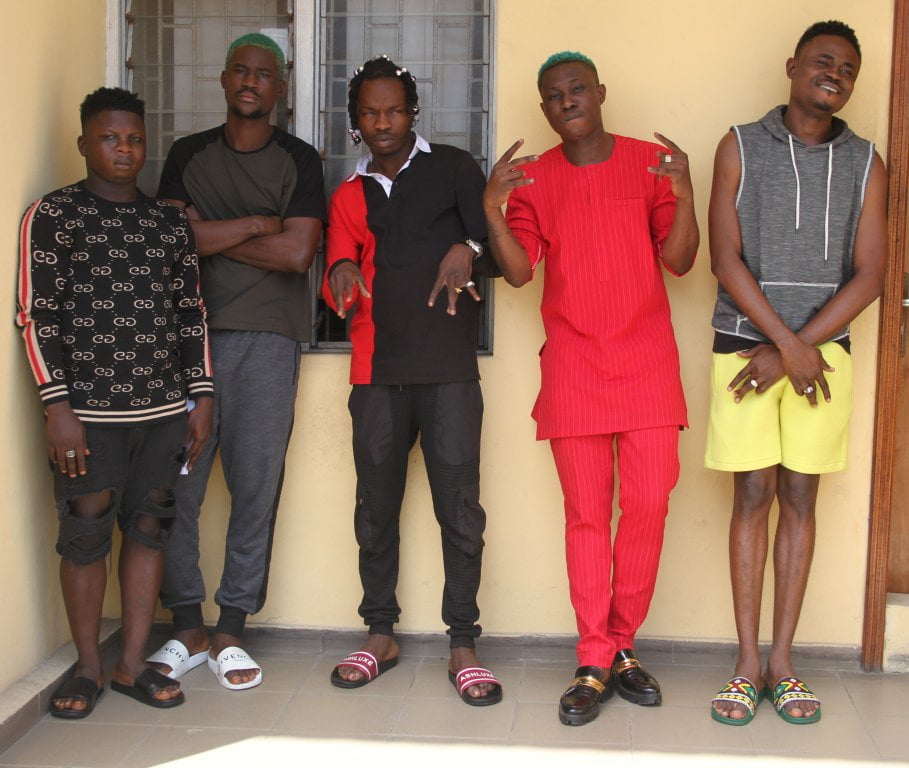 IMG 0776 - See Photos Of Naira Marley, Zlatan Ibile As EFCC Explains Reason For Arrest