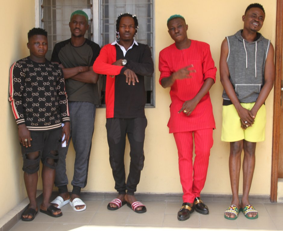 IMG 0778 - See Photos Of Naira Marley, Zlatan Ibile As EFCC Explains Reason For Arrest