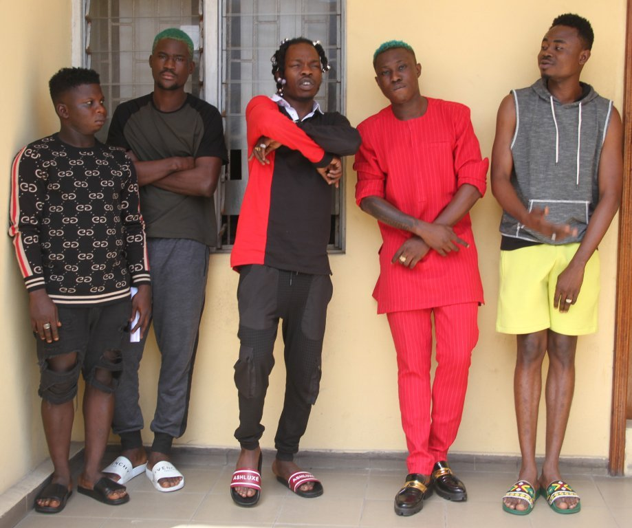 IMG 0779 - See Photos Of Naira Marley, Zlatan Ibile As EFCC Explains Reason For Arrest