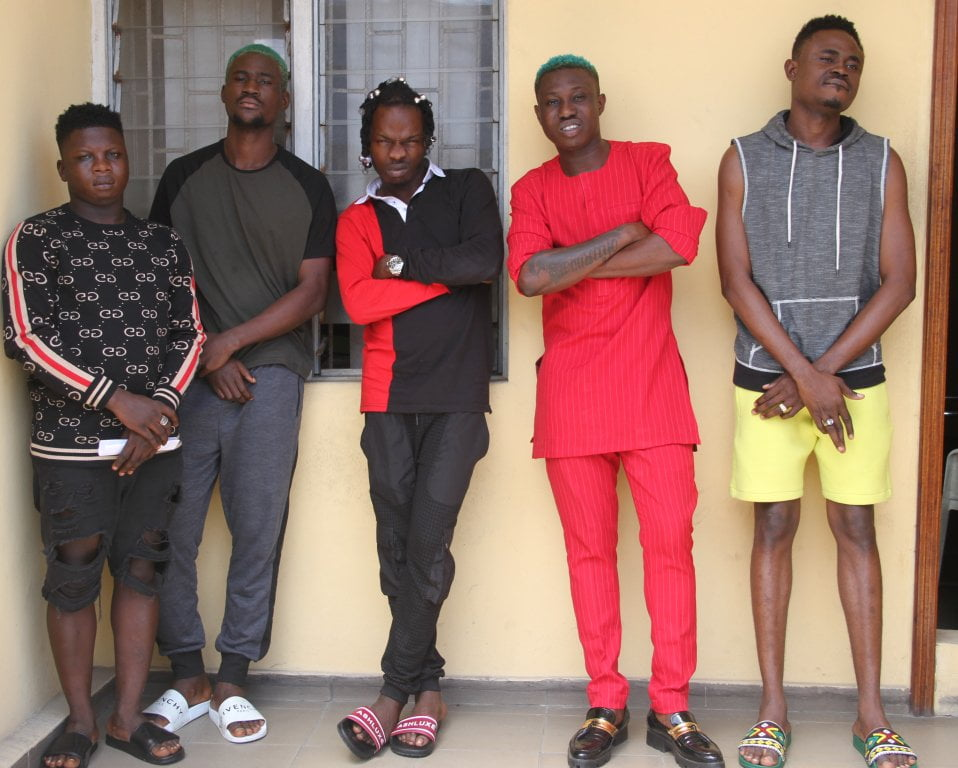 IMG 0785 - See Photos Of Naira Marley, Zlatan Ibile As EFCC Explains Reason For Arrest