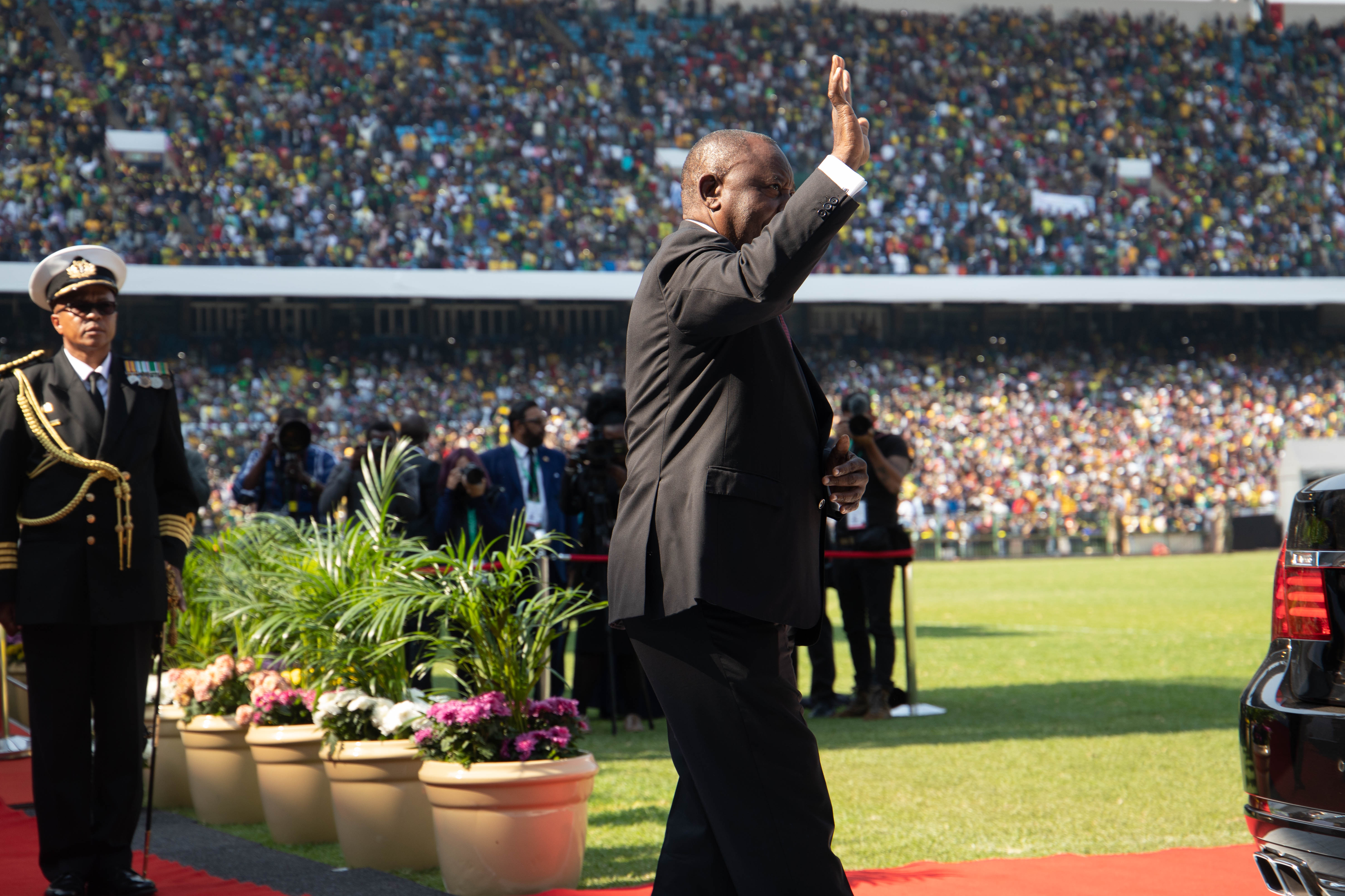 IMG 5323 - Photos From Cyril Ramaphosa's Presidential Inauguration As Fifth President Of South Africa