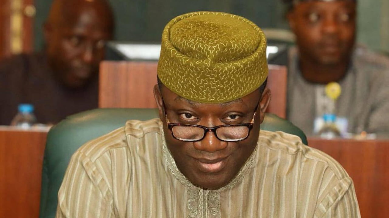 Fayemi briefs newsmen on meeting with Buhari