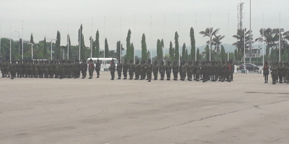 Kb7cbwoX - Photos: Military Show Nigerians What To Expect On Democracy Day