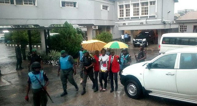 Naira marley in court - Photos: EFCC Arraigns Naira Marley In Court