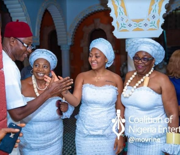 Ned Reg 5 - Nollywood's Regina Daniels Initiated Into Married Women Group (Photos)