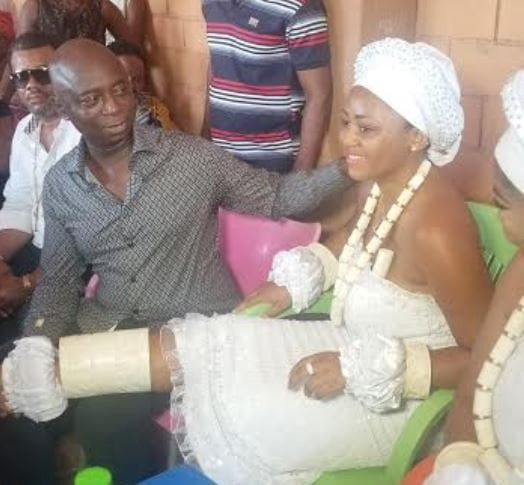Ned Reg 6 - Nollywood's Regina Daniels Initiated Into Married Women Group (Photos)