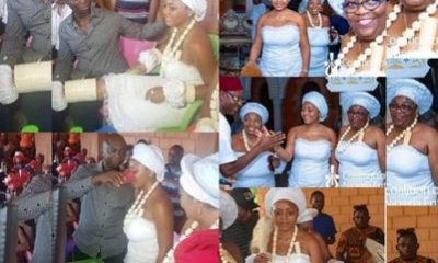 Nollywood's Regina Daniels Initiated Into Married Women Group (Photos)