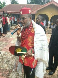 Nnamdi Kanu Abia residence 225x300 - Biafra: IPOB's Nnamdi Kanu Addresses 'Biafrans' After Parents' Burial