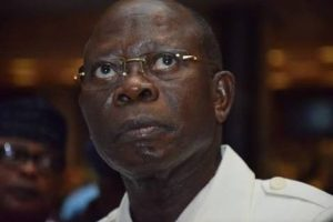 OSHIOMHOLE 300x200 - Edo APC: Thugs Disrupt Venue For Oshiomhole's Rally