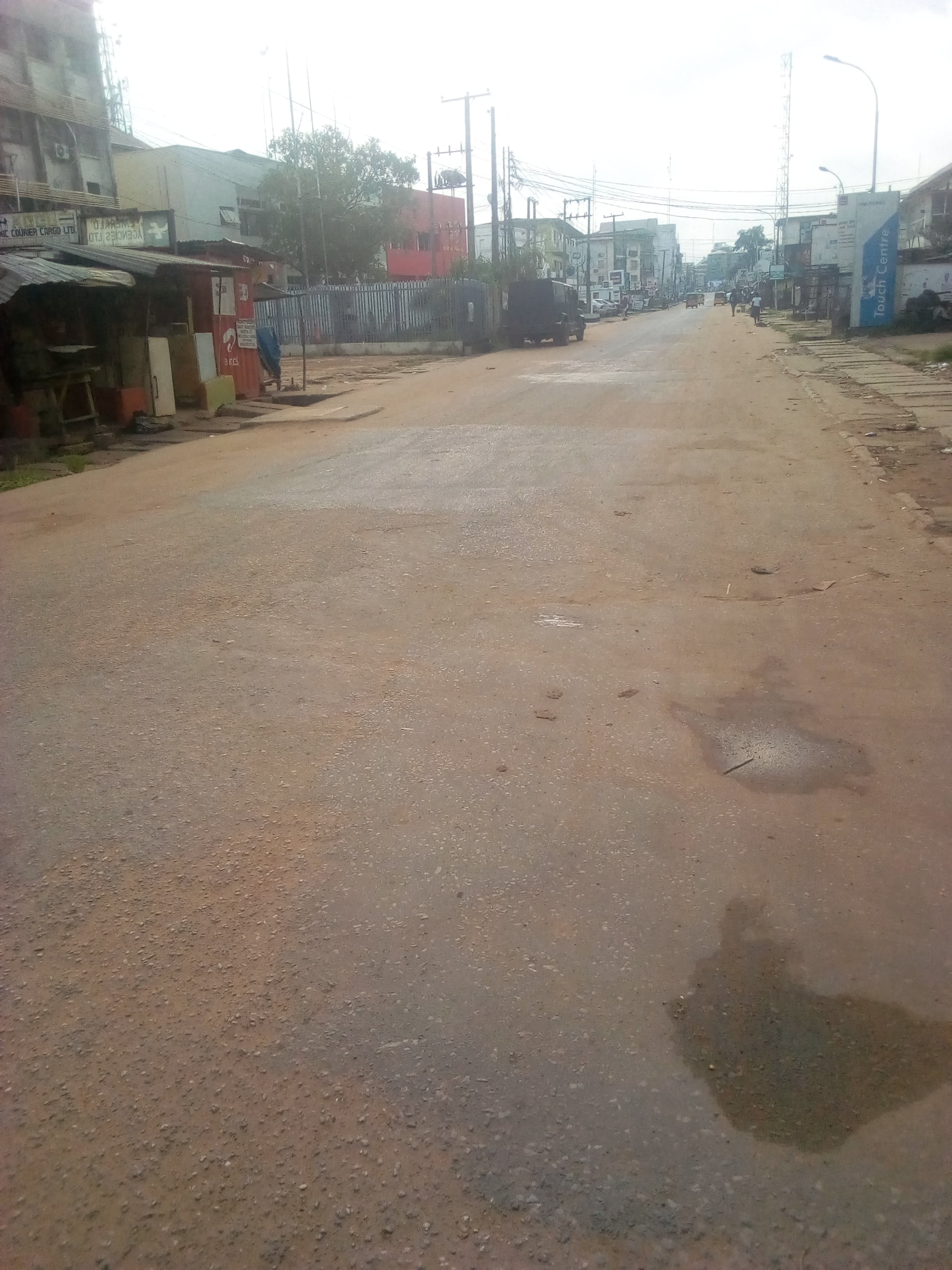 Onitsha main market - Biafra: See What Onitsha, Other Cities Look Like As IPOB Observes Sit-At-Home (Photos)