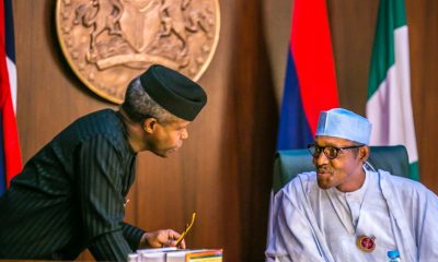 Osinbajo and Buhari.