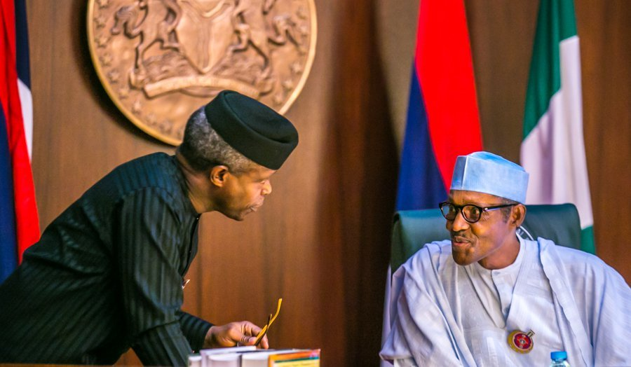 Osinbajo and Buhari in talks - Osinbajo Reveals President Buhari's Priority