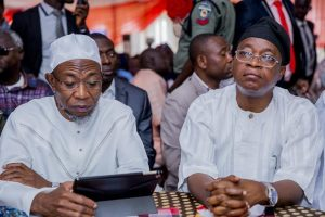 Oyetola with Aregbesola 300x200 - Oyetola Modifies Aregbesola's Policy As Osun Reverts To 6-3-3-4 Educational System