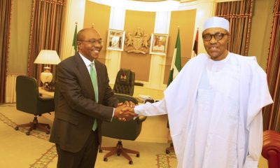 Emefiele Meets Buhari In Aso Rock