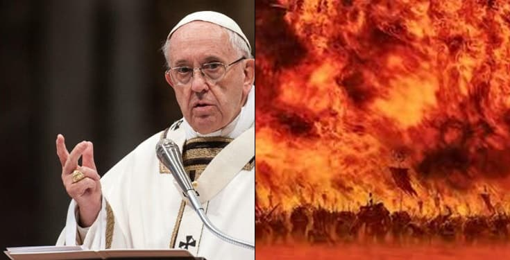 Pope and Hell - Hell Does Not Exist, Sinful Souls Only Disappear– Pope Francis