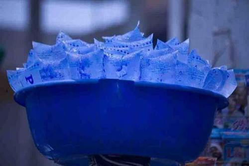 Pure water ice block - Ramadan Fast, Hot Weather Booming Ice Block Business In Bauchi State