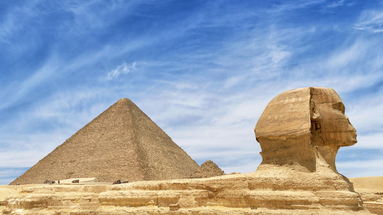 Pyramid of Giza 1 - The Top Ten Strangest Places On Earth That Might Interest You