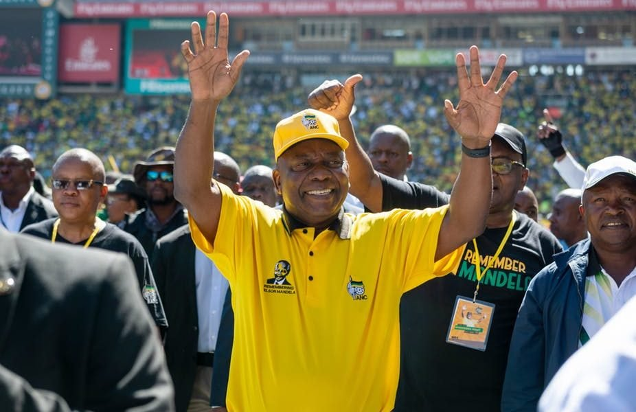 RAMAPHOSA 926x600 - Just In: ANC's Ramaphosa Wins South Africa's Election
