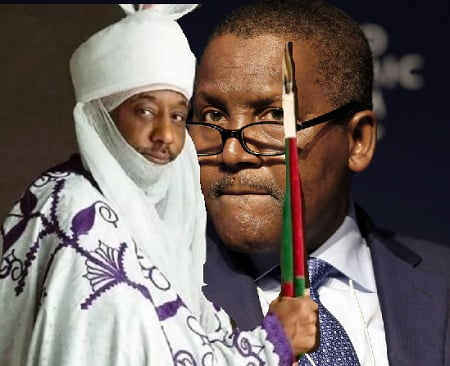 How Dangote 'Stopped' Ganduje From 'Dethroning' Emir Sanusi