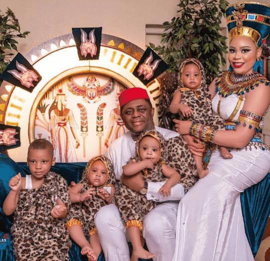 Screenshot 20190525 100321 540x522 - Fani-Kayode's Wife, Precious Chikwendu Celebrates Birthday With Her Triplet