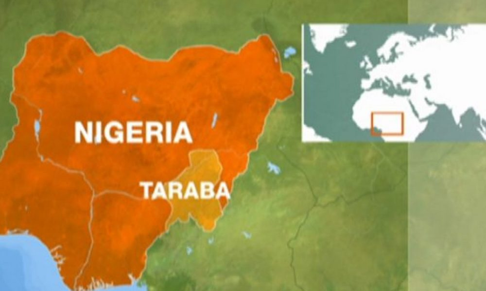 Taraba map 1000x600 - Latest Taraba News For Wednesday, May 15th, 2019