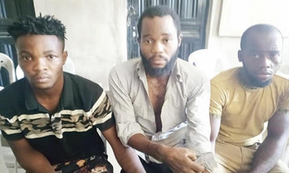 The suspects Kidnappers 1000x600 - Lagos Bureau De Change Operators Murdered By Kidnappers After Collecting 1.6m