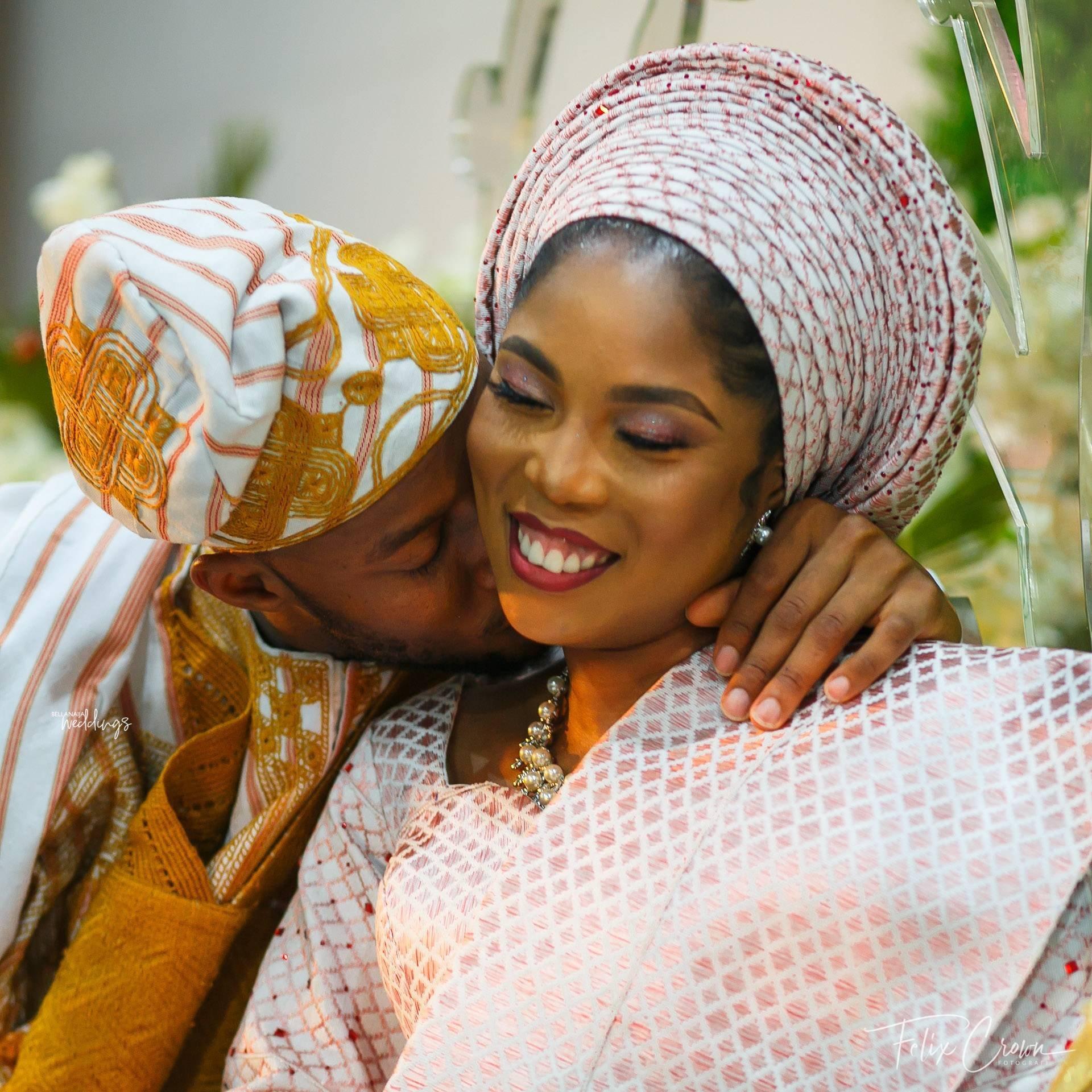 Tosin Charles Trad BellaNaija Weddings 46 - Nigerian Music Artiste, Tiwa-Savage Finally Re-Married?