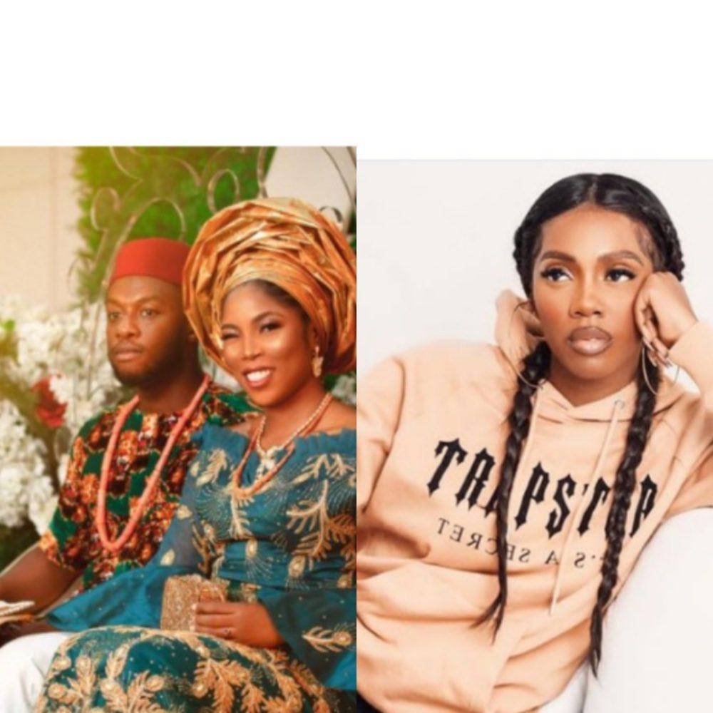 Tosin - Nigerian Music Artiste, Tiwa-Savage Finally Re-Married?