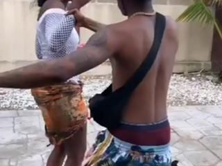 Wizkid Spanks Tiwa Savage's 'Bum Bum' (Video)