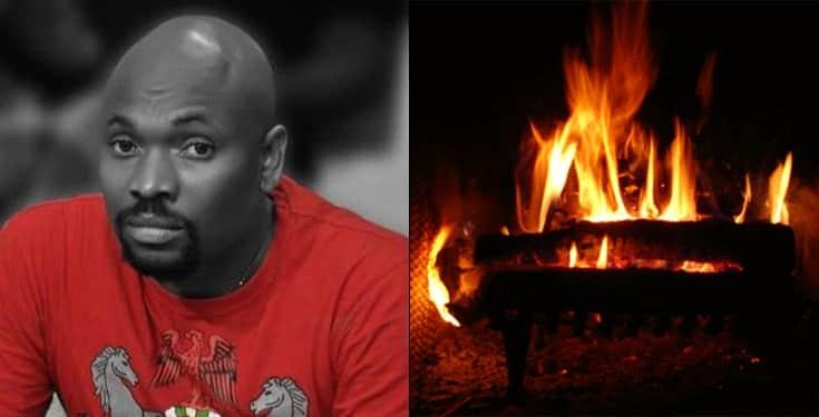 YAW - Fire Razes OAP Yaw's House, Destroys Valuable