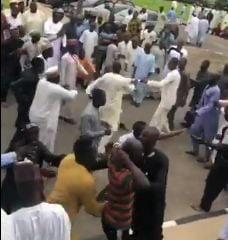 Zamfara Youths Exchange Blows Over Supreme Court Judgement Against APC (Video