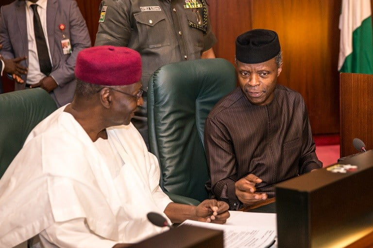 Osinbajo in NEC discussion