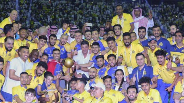 Ahmed Musa Wins Saudi league Title With Al Nassr #Nigeria al nassr celebration p7ac4em3ah081h8gu50tx8rky