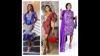 ankara design - Latest Ankara Short Gown Styles And Designs