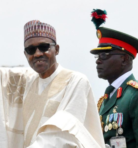Buhari's second term inauguration
