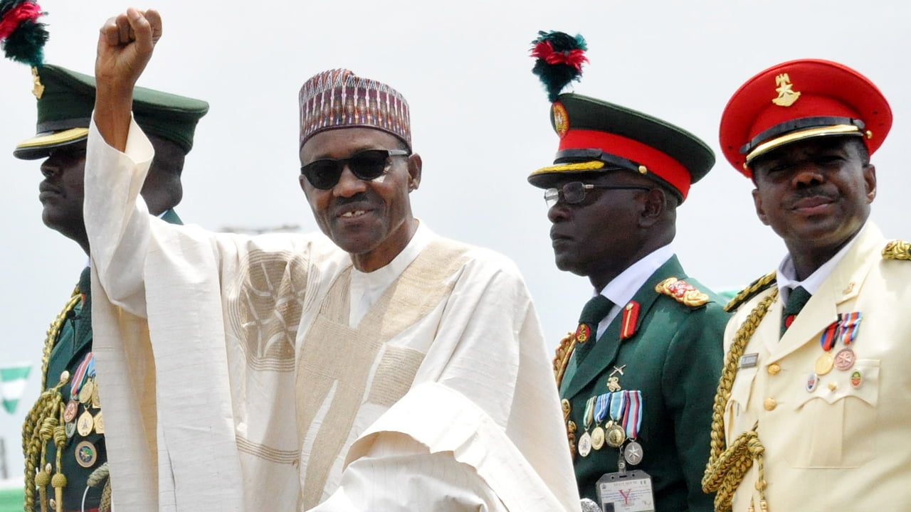 Buhari's second term inauguration