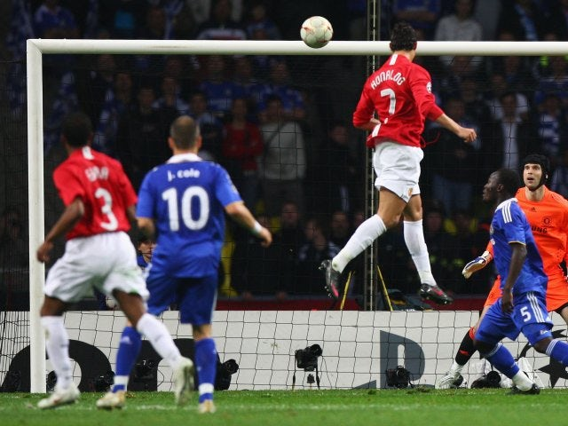 cristiano ronaldo - UCL #ThrowBack: What Happened The Last Time We Had An All English Champions League Final (Photos)
