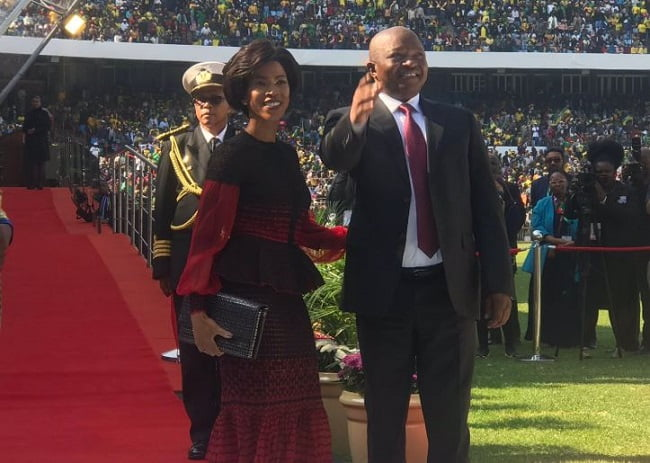 david mabuza - Photos From Cyril Ramaphosa's Presidential Inauguration As Fifth President Of South Africa