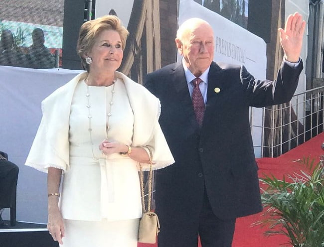 de klerk - Photos From Cyril Ramaphosa's Presidential Inauguration As Fifth President Of South Africa