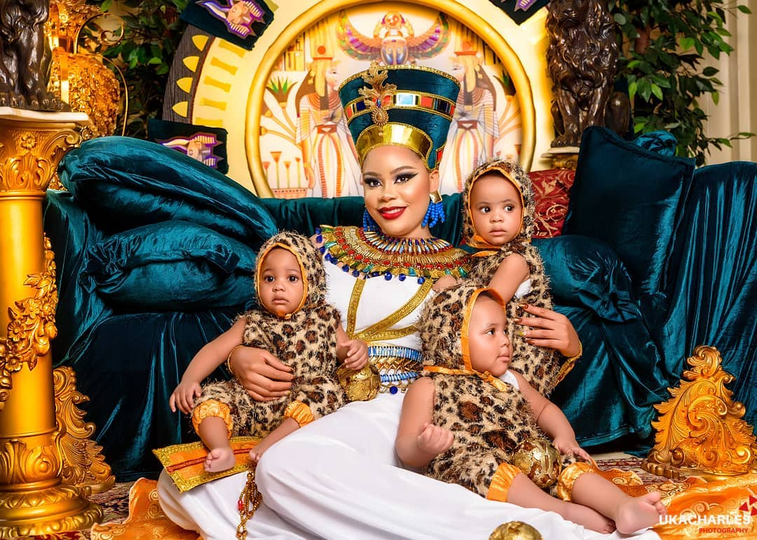 femi fani kayode celebrates wife former beauty queen precious chikwendu on her birthday photos 1 - FFK Praises Wife, Former Beauty Queen Precious Chikwendu As She Celebrates Her Birthday (Pictures)