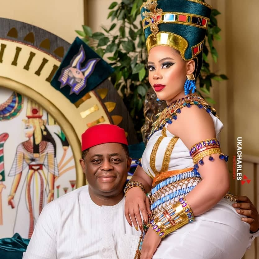 femi fani kayode celebrates wife former beauty queen precious chikwendu on her birthday photos 7 - FFK Praises Wife, Former Beauty Queen Precious Chikwendu As She Celebrates Her Birthday (Pictures)