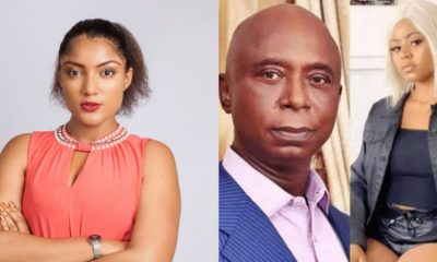 gifty reacts to Regina Daniels marriage