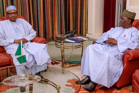 gowon1 - Buhari Meets Former Head of State Gowon (Photos)